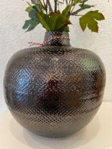 Portugalská keramika, měděná glazura, v. 27cm, š. 27cm, 1.690,-